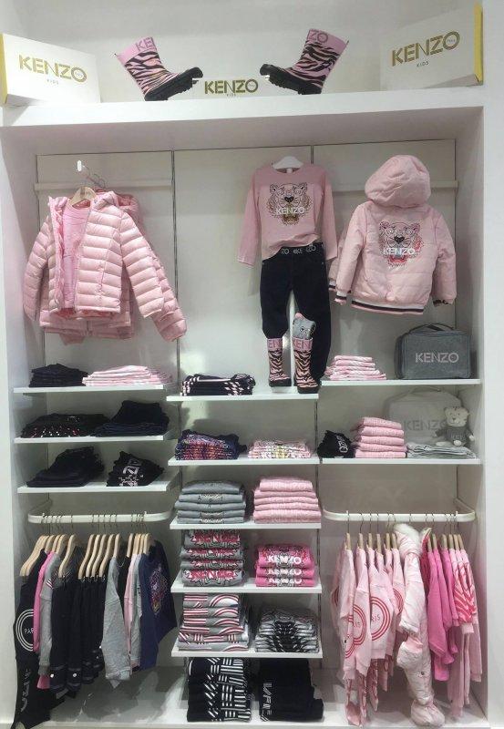 Vêtements enfants Kenzo Kids à la boutique vêtements enfants Kids Store Tours