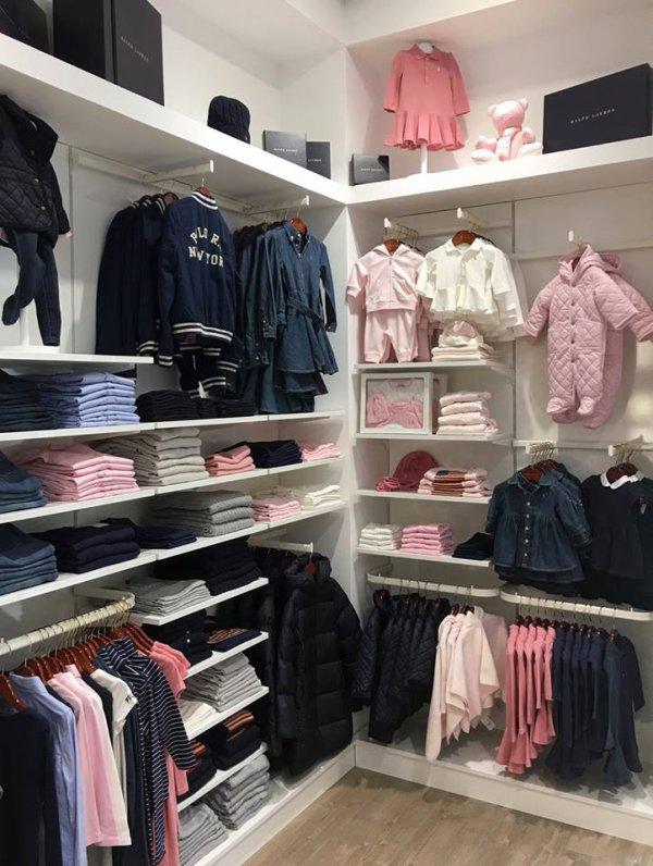 Ralph Lauren enfants filles et garçons à Kids Store boutique vêtements enfants à Tours
