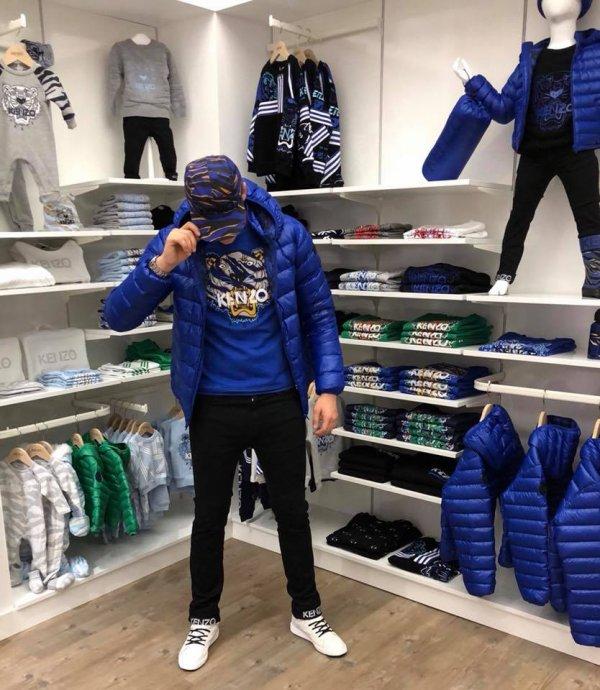 Kenzo Kids avec les sweat Tiger à Tours boutique enfants Kids Store