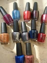 Filles:  Les vernis à ongles:
