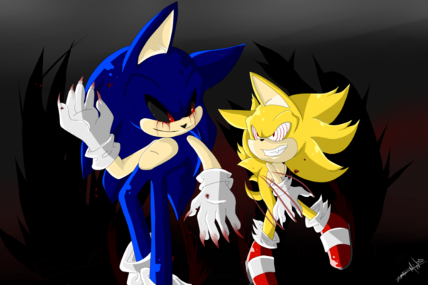 Obscurité:Sonic.exe and Fleetway