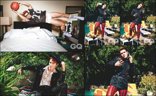 Kj a posé lors d'un shooting pour le célèbre magazine GQ Australia.