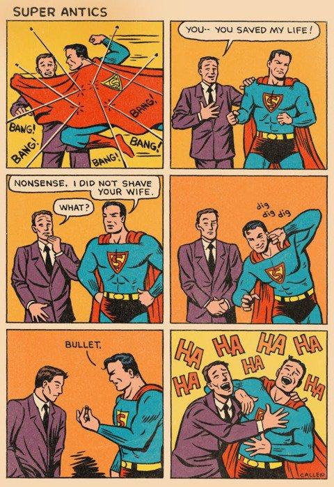 Quel farceur ce Superman !