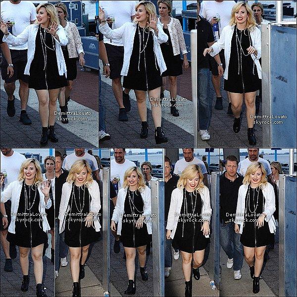 17 Juillet Demi et vue arrivée à PENNS à Philadelphie.