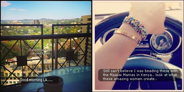 30 & 31 Demi à poster sur sont twitter 2 nouvelles photos.