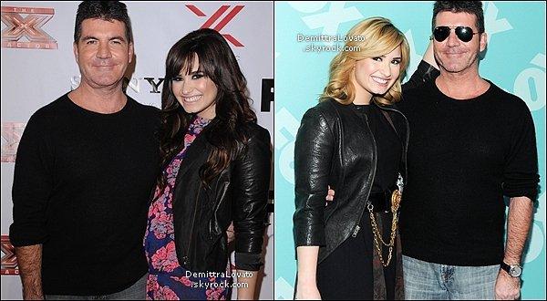 NEWS - Demi.Lovato voudrais être comme Simon Cowell pour X Factor !