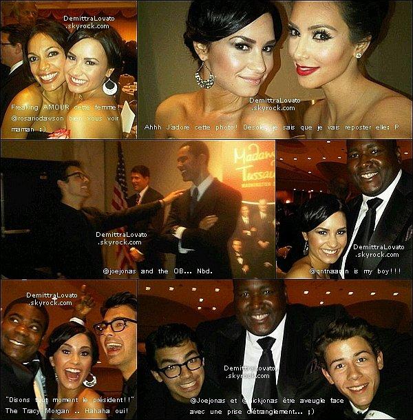 1er Mai des photos Twitter de Demi du « Dîner de l'Association des correspondants de la Maison Blanche 2010 » !