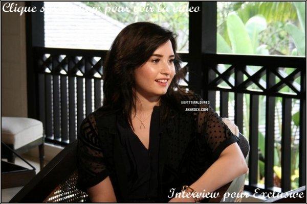 .    14 Avril Demi.Lovato à participé au concert pour «Breakfast à la Barbade 2013»!                                                           .