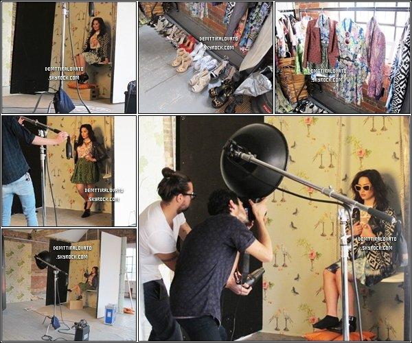 .     En Mars Demi.L à réalisé un shoot pour pour Company Magazine UK pour le moi de Juin, le shoot à était fait l'or de sont passage à Londres en Angleterre. Voici les photos des Backstages pandent le shooting.                                                          .