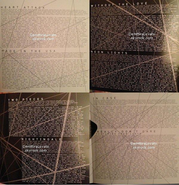.    Découvre les photos officiel Demi.Lovato pour l'album « DEMI » !                                               .