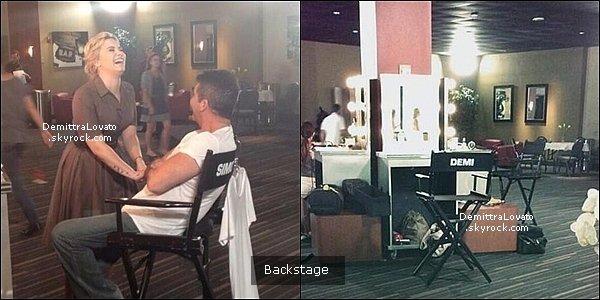 11 Juin D.Lovato, K.Rowland, P.Rubio et S.Cowell on fait les auditions pour «X-Factor» à la Nouvelle Orleans.