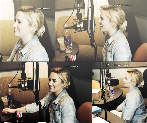 10 Juillet Demi est aller à la RADIO YFM 104,3.