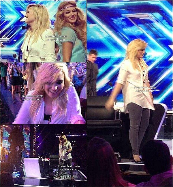11 Juillet Demi et les autres menbre du jury était aux auditions de Los Angeles.