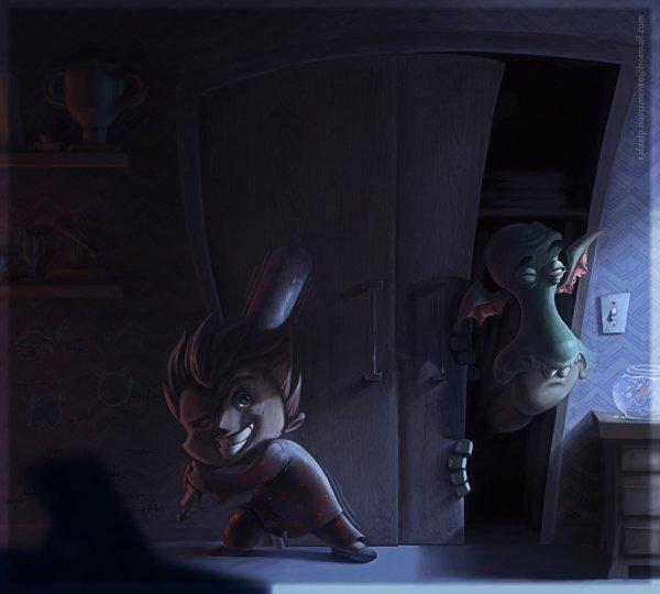 Des monstres dans mon placard ... Oo