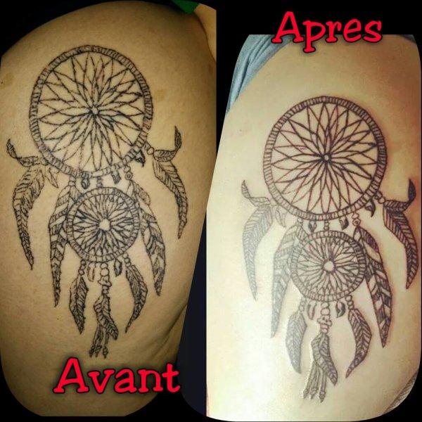Rattrapage De Tatouage Capteur De Rêve Blog De Cdr Ink Tattoo