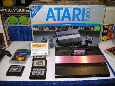L'Atari 5200 1982