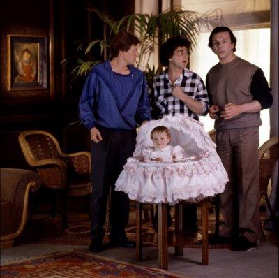 3 hommes et un couffin 1985