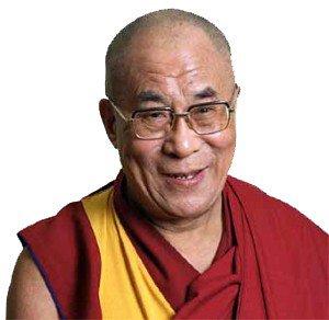 dalaï-lama ( Tenzin Gyatso)1989