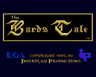 The Bard's Tale: Tales of the Unknown 1985