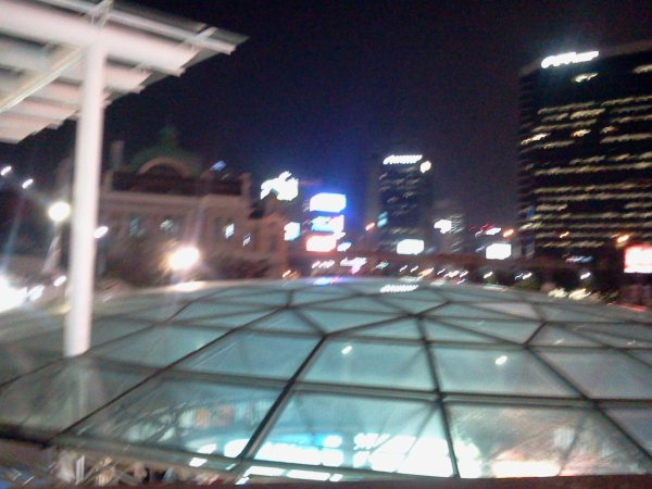 Seoul Station By  Night