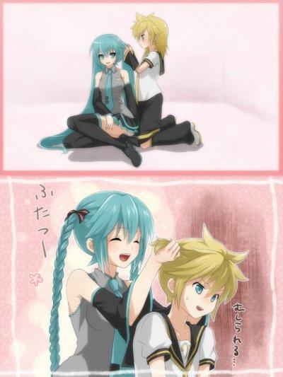 les minis mangas des Vocaloids!