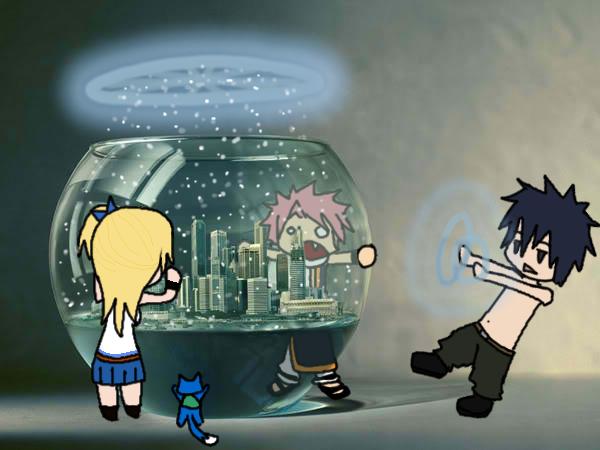 Fanfic Fairy Tail: chapitre 5