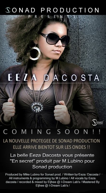 EEZA DACOSTA BIENTOT LA PROMO DE SON TOUT 1er SINGLE BY SONAD PRODUCTION