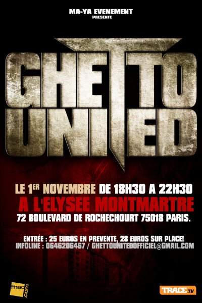 CONCERT GHETTO UNITED!!!!!