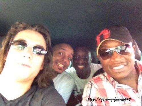 Jérémy sur la route pour Lille :D !