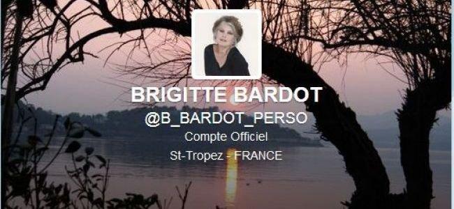 Brigitte Bardot débarque sur Twitter