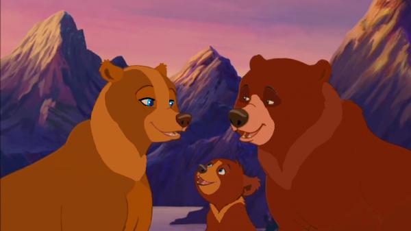 Frère des ours 3: Koda, Nicoles et Lela.