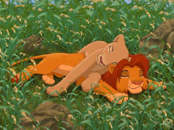 Kion et Loona adolescent.