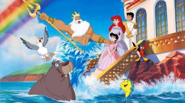 La petite sirène 4: Mélodie,sa famille et ses amis