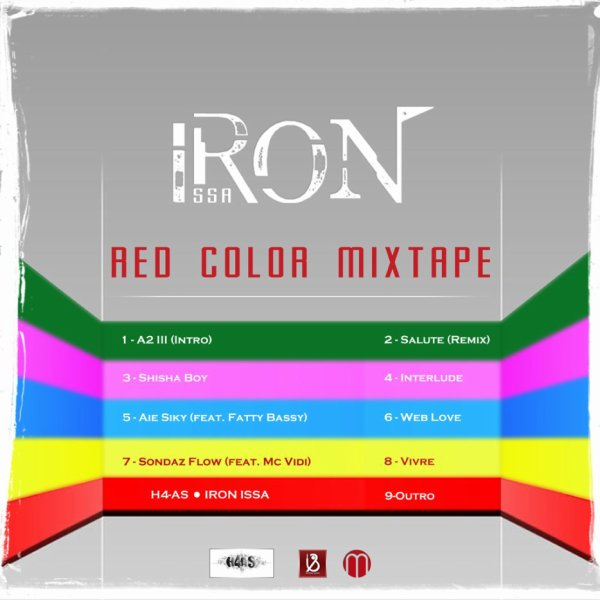 IRON ISSA - RED COLOR MIXTAPE