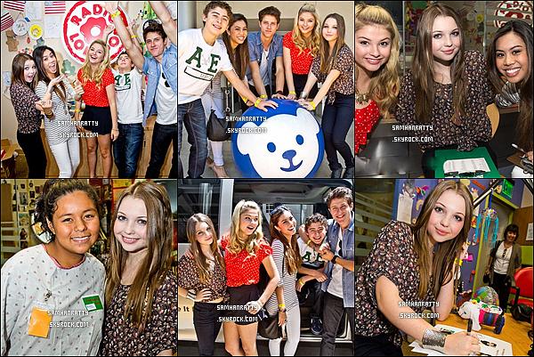 Aout 2011 : Sammi était présente au « Kids Help Children Charity ».