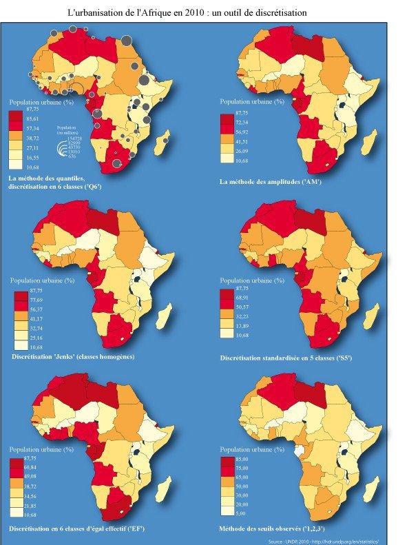 Carte Urbanisation Afrique.L Urbanisation De L Afrique En 2010 Un Outil De
