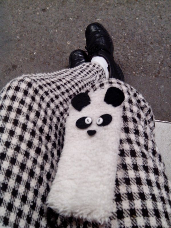 Panda case *-* (and male cosplay cloths xD)