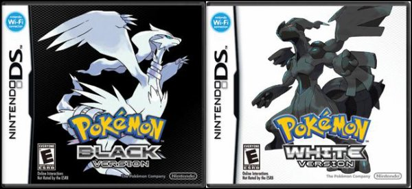 pokemon black et white