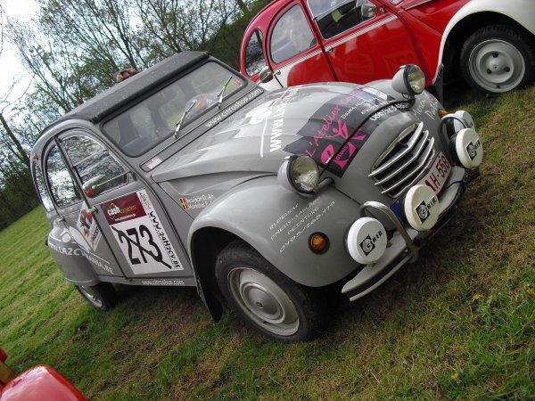 Dimanche 22 avril Ronquières Citroën Jumble 2012