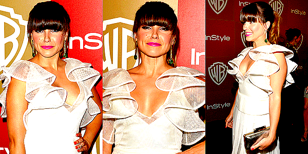 Le 13/01 : Sophia s'est rendue à l'after party des Golden Globes 2013 organisée par Instyle, à Beverly Hills