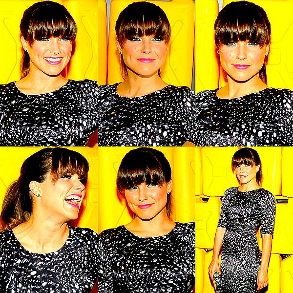 Le 10/12/2012 : Notre belle Sophia était présente à un Gala de charité, à New York