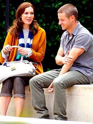 Le 04/04 : Ben était sur le tournage du pilote de sa nouvelle série avec Mandy Moore, à Los Angeles