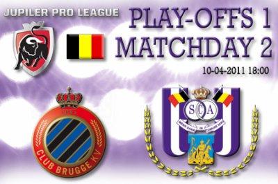 2 journée de play-off 1