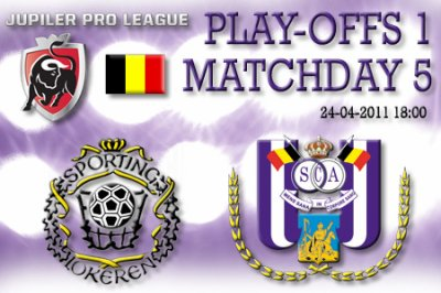 5 journée de play-off 1