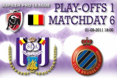 6 journée de play-off 1