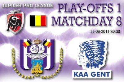 8 journée de play-off 1
