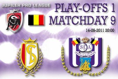 9 journée de play-off 1