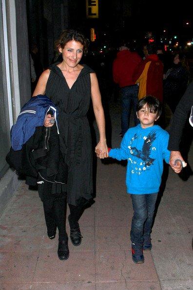 Lisa Edelstein et les enfants de Robert !