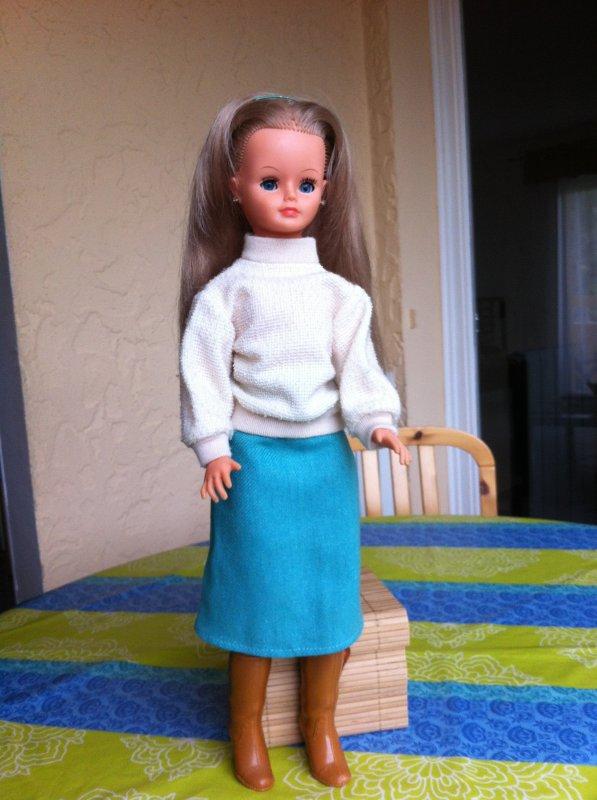 Cathie, poupée d'une amie