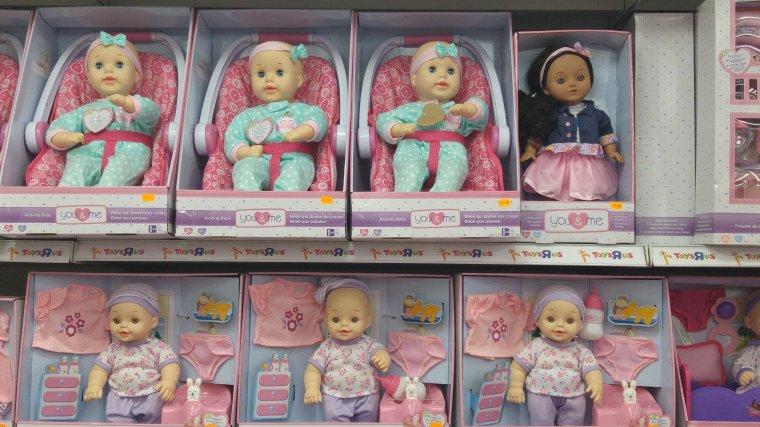 Et sinon il y a des poupées en Israël ?